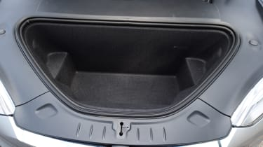 Tesla Model S - front 'frunk'