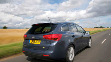 The 1.6-litre diesel with 134bhp is a good all-rounder, averaging up to 72.4mpg and emitting 102g/km of CO2