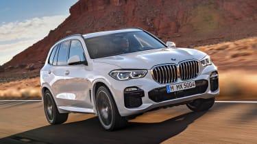 BMW X5 front left