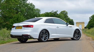 Audi A5 Coupe rear 3/4 static