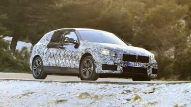 2019 BMW 1 Series pre-production - three quarter