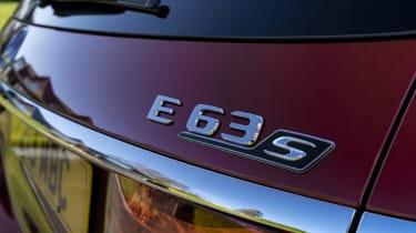 Mercedes-AMG E 63 estate badge
