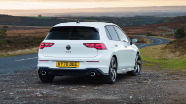Volkswagen Golf GTI hatchback rear static