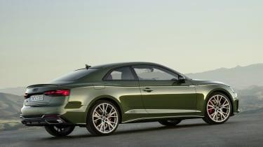 Audi A5 static rear