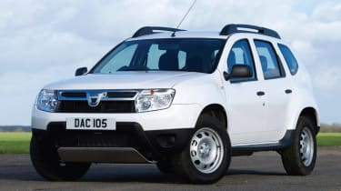 Dacia Duster 2013 front quarter static