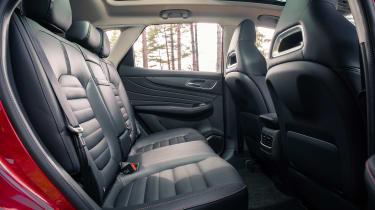 MG HS SUV back seats