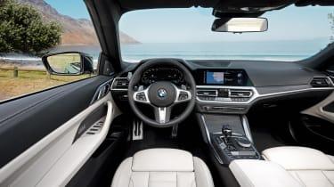 2020 BMW 4 Series Convertible interior