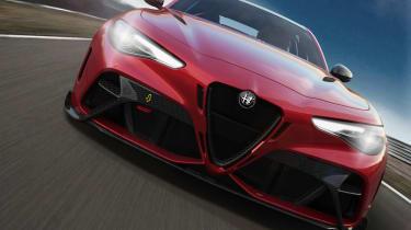 Alfa Romeo Giulia GTA front view