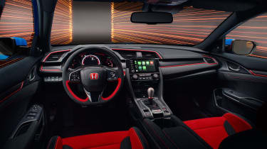 Honda Civic Type R GT interior