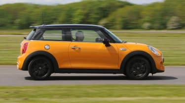 The MINI still provides lots of driving thrills