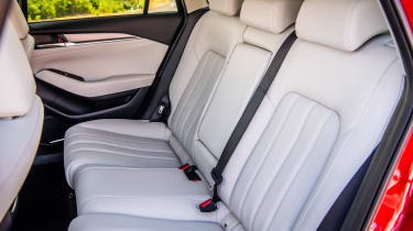 Mazda6 rear seats