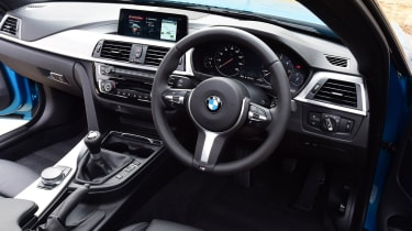 BMW 420d M Sport interior
