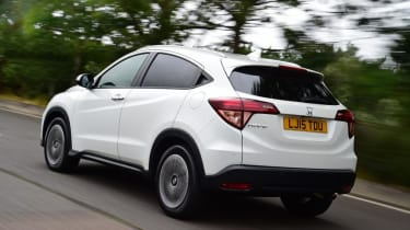 There are 1.6-litre diesel and 1.5-litre petrol engines to choose from in the HR-V