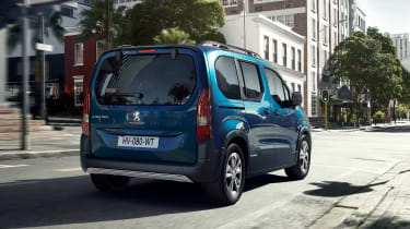 Peugeot e-Rifter rear 3/4