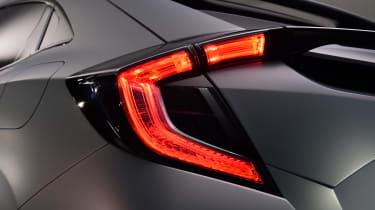 'C-shaped' rear illumination is a key visual feature of the new Honda Civic