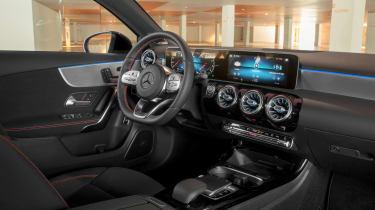 Mercedes A-Class saloon interior
