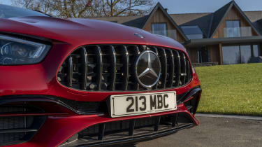 Mercedes-AMG E 63 estate grille