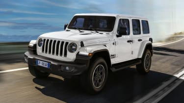 2021 Jeep Wrangler 80th Anniversary - front 3/4