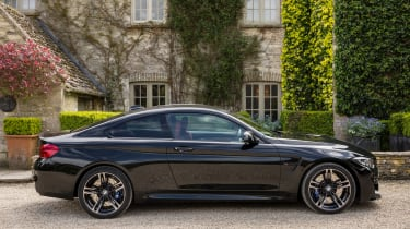 BMW M4 Coupe side static