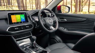 MG HS SUV dashboard