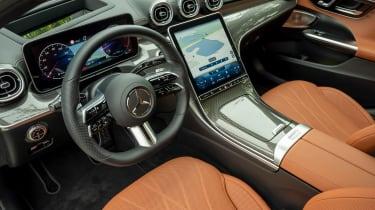 Mercedes C-Class Estate steering wheel