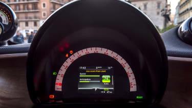 Smart EQ ForTwo hatchback instruments