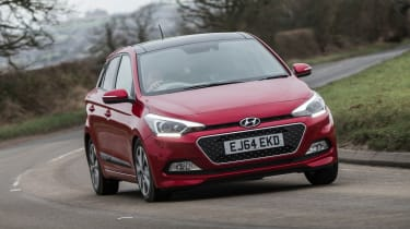 Few small cars offer the interior space of the Hyundai i20