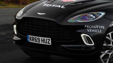 Aston Martin DBX prototype front end