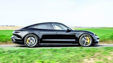 Porsche Taycan - side view