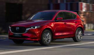 2022 Mazda CX-5 GT Sport in red