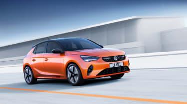 2020 Vauxhall Corsa-e - dynamic 3/4 RH view