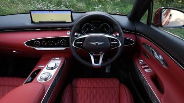 Genesis GV70 SUV interior