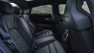 Audi e-tron GT saloon rear seats