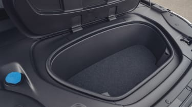 Volvo XC40 Recharge P8 SUV front boot