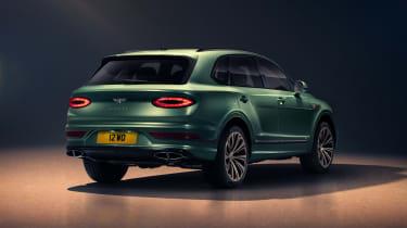 2020 Bentley Bentayga SUV - rear 3/4 studio static
