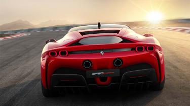 Ferrari SF90 Stradale - rear view