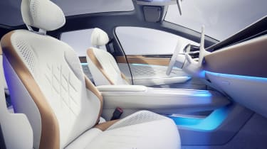Volkswagen ID. Space Vizzion concept front seats