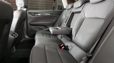 There's loads of space for passengers in the Insignia Country Tourer; leg and headroom are excellent