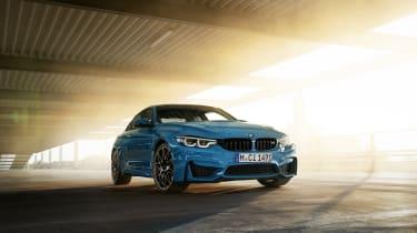 BMW M4 M Heritage Edition in Laguna Seca Blue