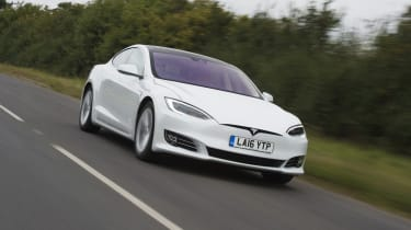 The Tesla Model S was designed from the ground up as an all-electric family hatchback