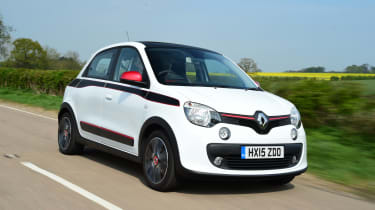 The Twingo doesn't lack rivals, with the Kia Picanto, Volkswagen up!, Toyota Aygo and Hyundai i10 all in contention