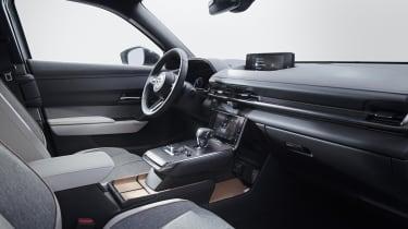 Mazda MX-30 interior - side view