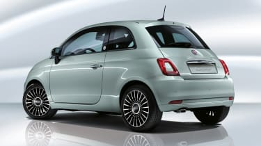 Fiat 500 mild hybrid - rear view