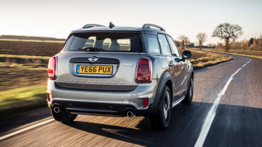 Petrol engines include a 1.5-litre with 136bhp and a 2.0-litre with 189bhp. The JCW model will be even quicker.