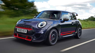 MINI JCW GP - front dynamic passing