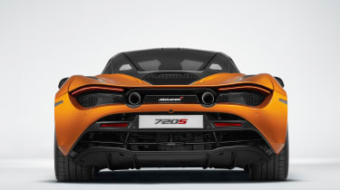 Active aerodynamics play a big part in the car's high speed handling