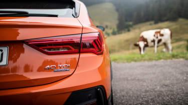 Audi Q3 Sportback SUV rear bumper