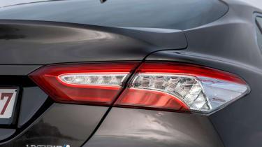 Toyota Camry saloon rear lights