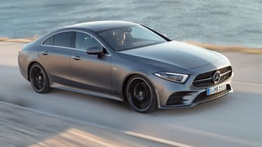 The CLS is designed to be fuel-efficient too, and the 350d returns up to 48.7mpg