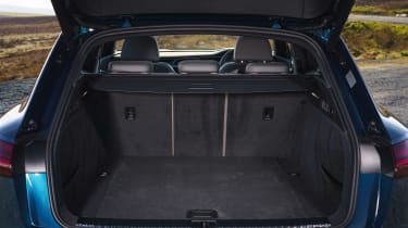 Audi e-tron SUV boot